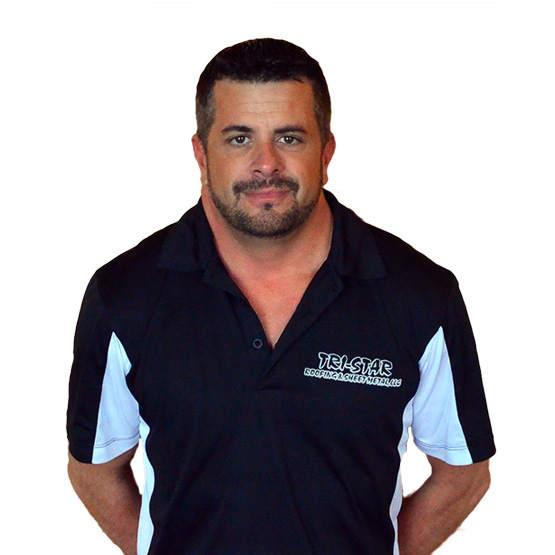 Chris Cook, the owner of Tri-Star Roofing Contractors