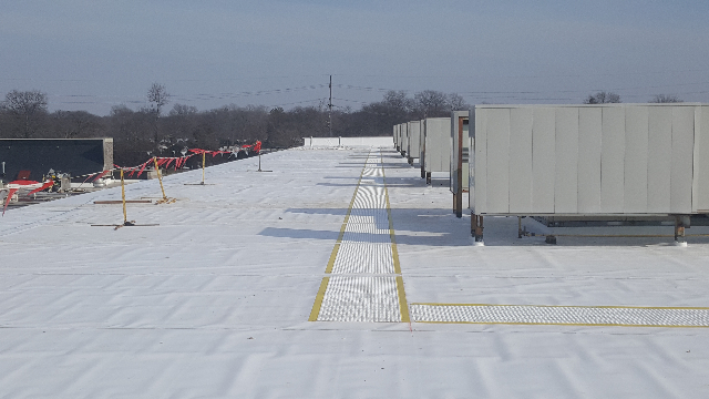 Tri-Star team has complete the walk ways on this project.